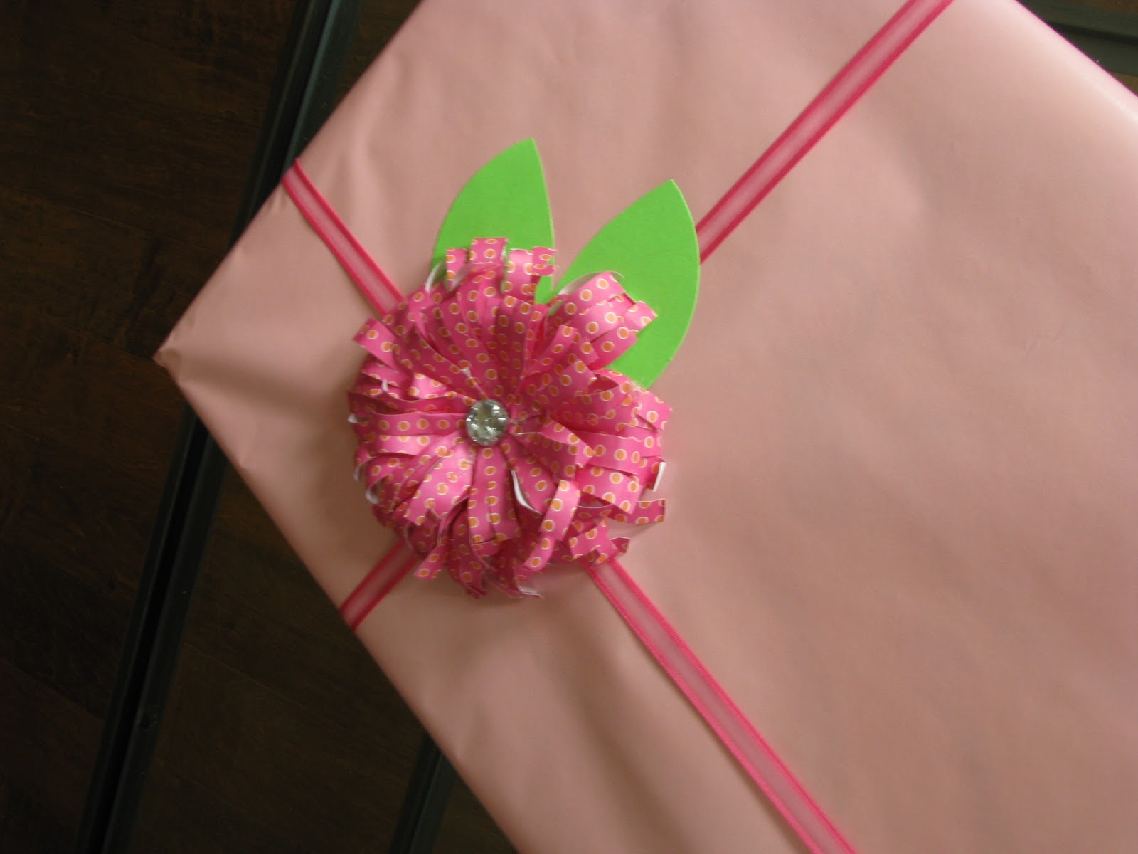 House on Ashwell lane: Embellish your gift with a flower
