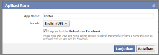 Cara membuat Update Status Facebook via