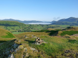 Bassenthwaite from High Rigg (Birkett Top).