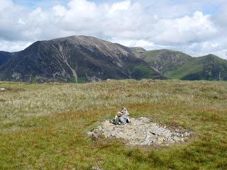 Mellbreak Summit with Grasmoor