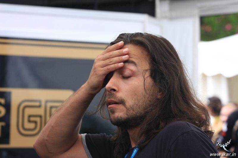 Алексей Попов фэйспалмит в Сочи 2011