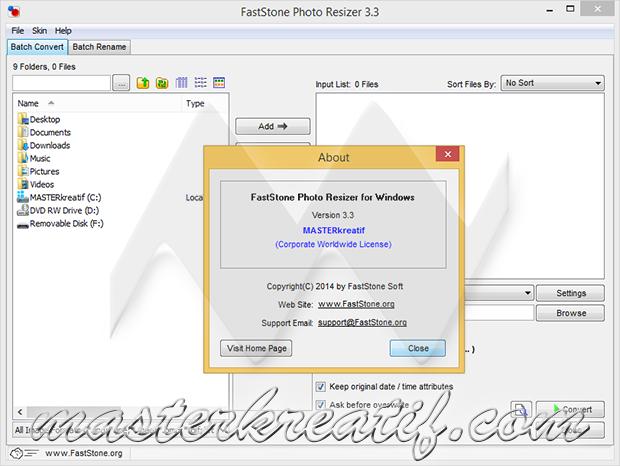 FastStone Photo Resizer 3.3