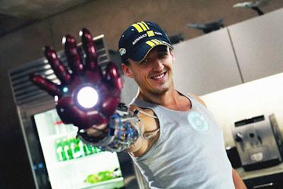 Роберт Кубица Iron Man Железный человек 2011