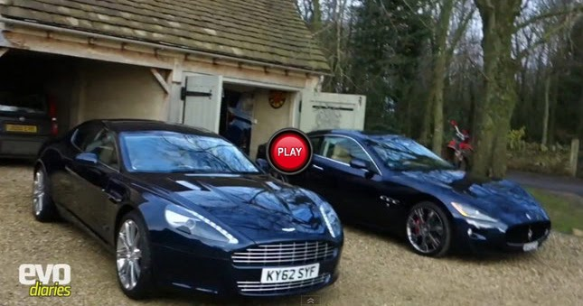Evo Reviews The Aston Martin Rapide Compares It To The