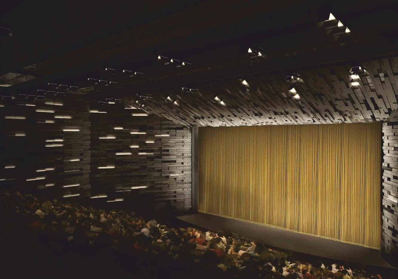 Open Albi Major Theater by Dominique Perrault Architecture