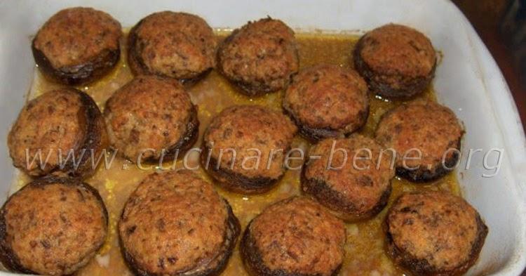 Funghi ripieni cucinare bene ricette di cucina for Cucinare funghi