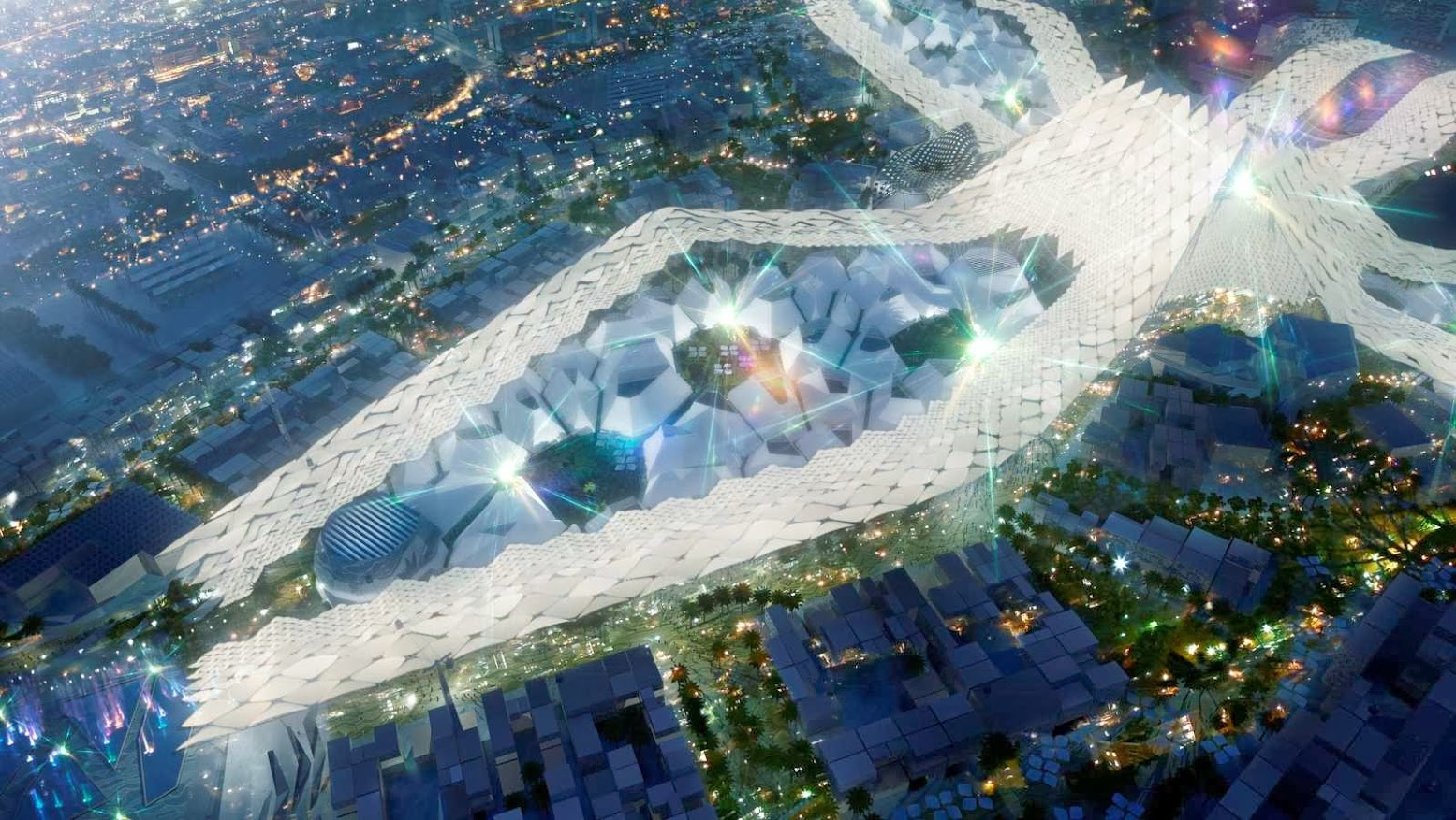 Master Plan Dubai World Expo 2020 by HOK