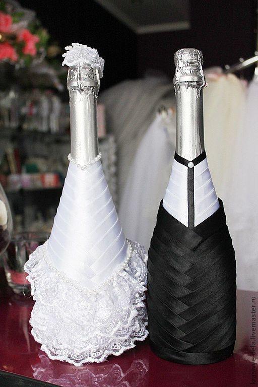 Шампанское на свадьбу своими руками фото мастер класс