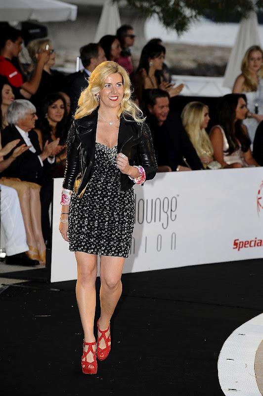 Мария де Вильота на Amber Fashion Show на Гран-при Монако 2012