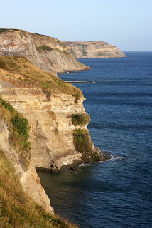 More dramatic cliffs