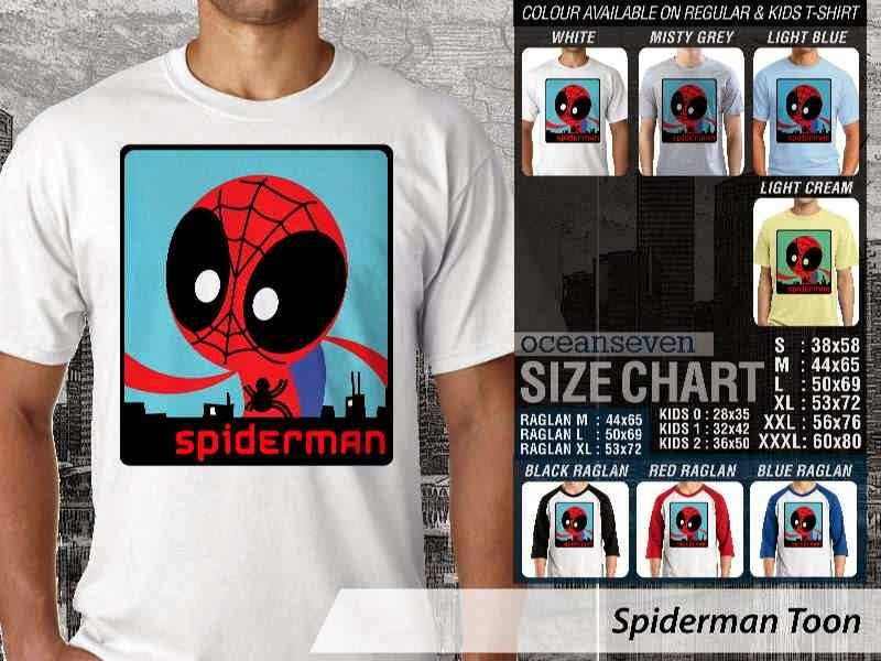 KAOS Spiderman 8 Amazing Superhero distro ocean seven
