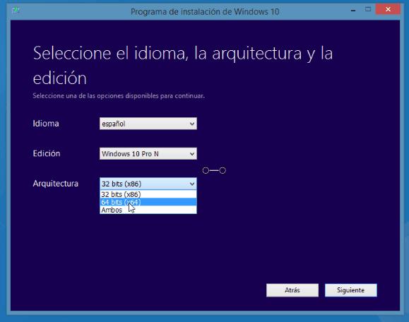 descargar arranque windows 10 usb