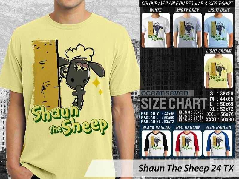 Kaos Movie Shaun The Sheep 24 distro ocean seven