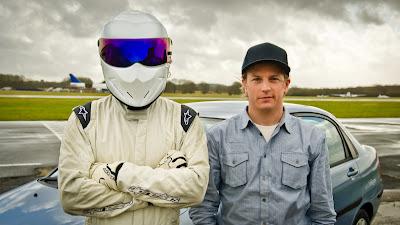 Кими Райкконен и Стиг из Top Gear