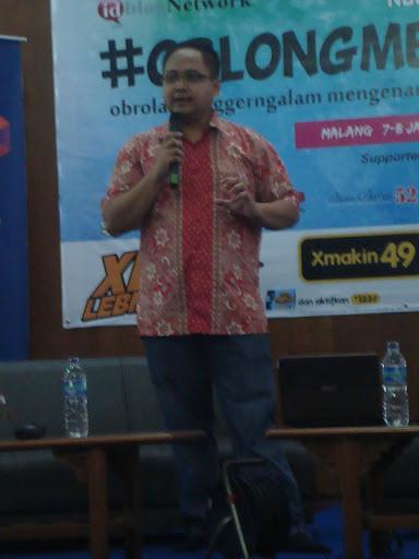 #OblongMerahMuda HUT ke 4 Blogger Ngalam | Sigit Widodo