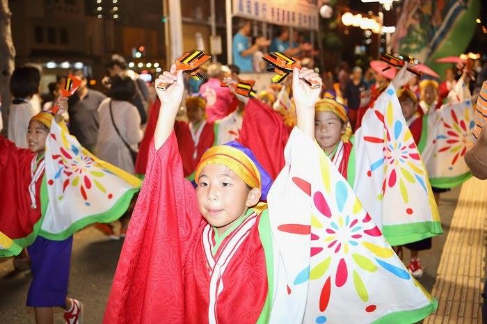 第60回よさこい祭り☆本祭2日目・上町競演場89☆上2目2942