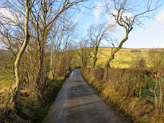 Lane From Hollins Cross To Castleton