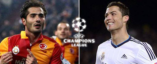 Galatasaray vs. Real Madrid en Vivo - Champions League