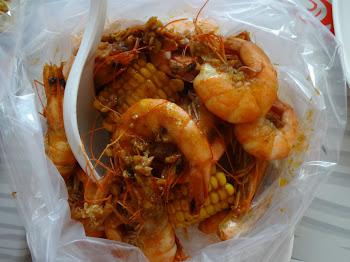 Delicious Shrimp at Choobi Choobi