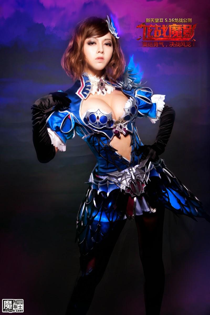 Bộ ảnh cosplay Lineage II cực gợi cảm
