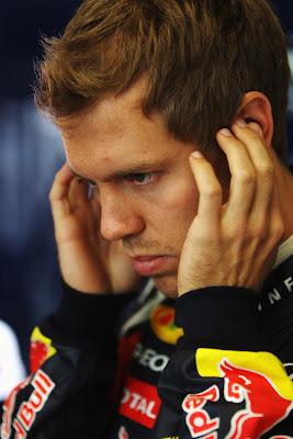 Себастьян Феттель концентрируется перед гонкой на Гран-при Германии 2011