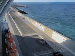 Civitavecchia, our old home port
