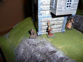 Wooly and Boris play peekaboo with Necromancer
