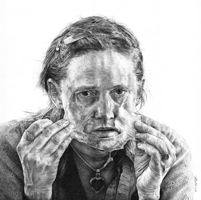 Hyper Realistic Pencil Drawings by Heikki Leis Seen On www.coolpicturegallery.us