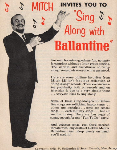Mitch Miller Sing Along with Ballantine