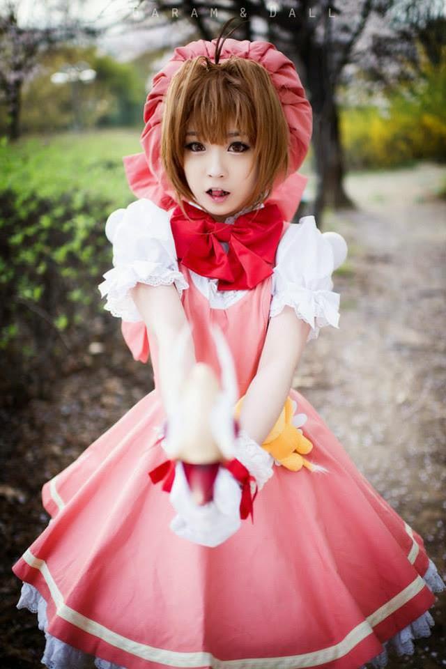 Tomia cực dễ thương với cosplay Sakura
