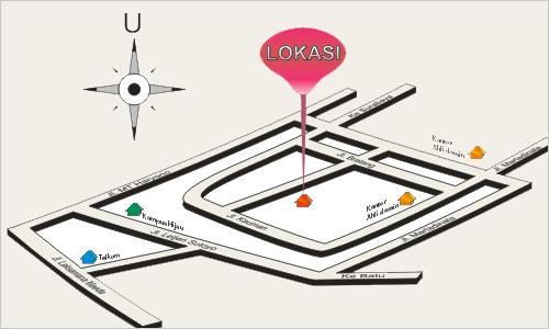 membuat peta penunjuk arah