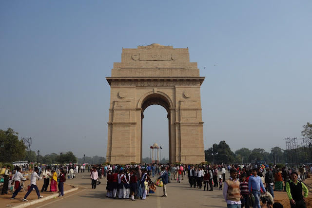 India Gate - India's national monument.