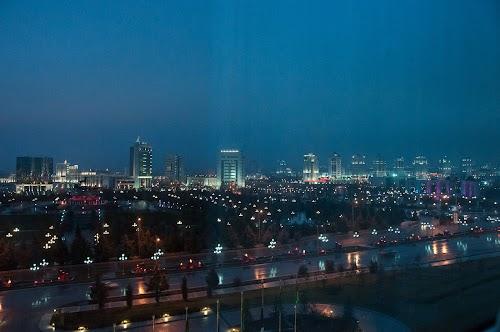 Вечерний Ашхабад