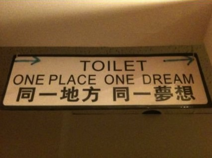 Lost in translation...
