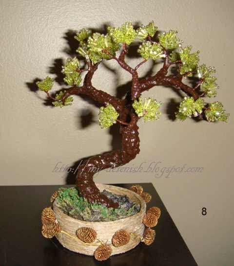 Мастер класс по бисероплетению деревья и цветы