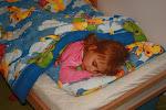 Spać to można z każdej strony łóżka