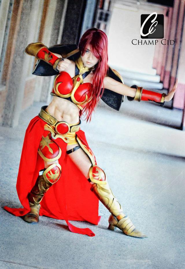 Ailkeene về bộ cosplay trên cả tuyệt vời về Leona - Ảnh 4