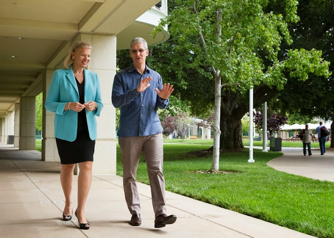 Apple teams up with IBM