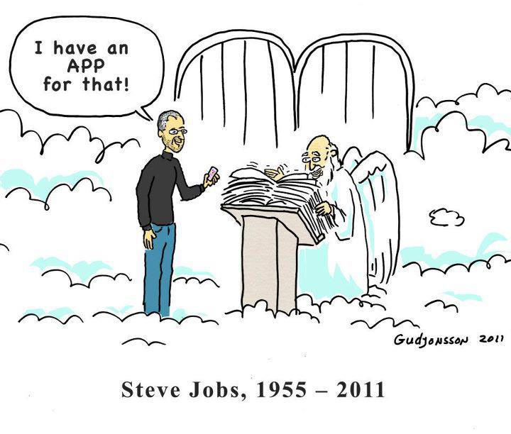 Steve Jobs: I have an APP for that!