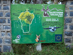 Sign for Bale Mountains National Park