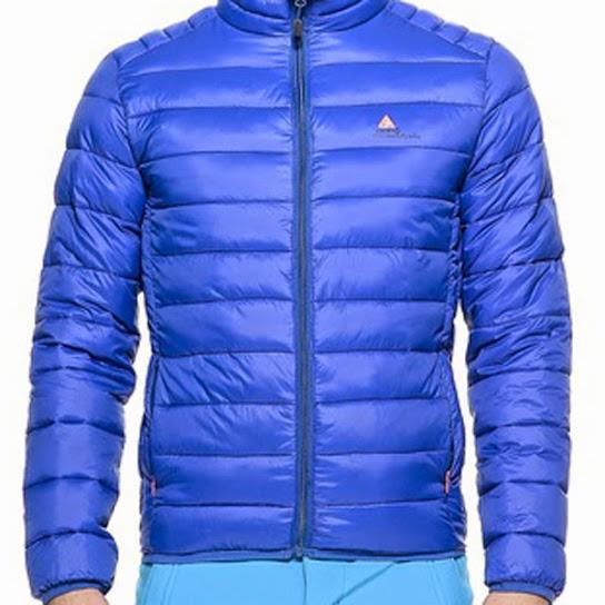 Peak Mountain - Doudoune fine homme CEKING- Bleu