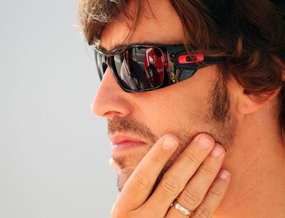 Фернандо Алонсо на Гран-при Европы 2011