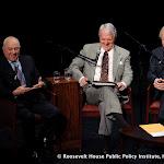 Joseph A. Califano, Ervin Duggan and Bill Moyers