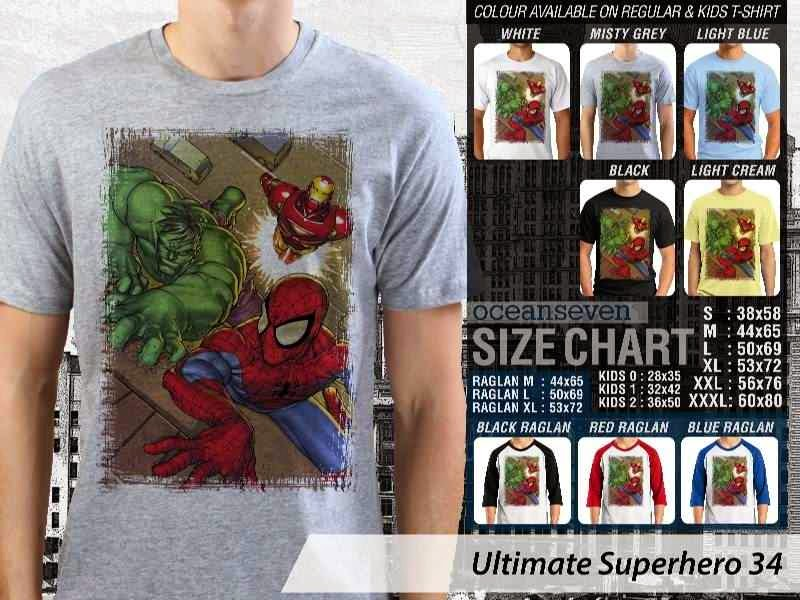 KAOS marvel hulk captain america thor ironman 34 Ultimate Superhero distro ocean seven