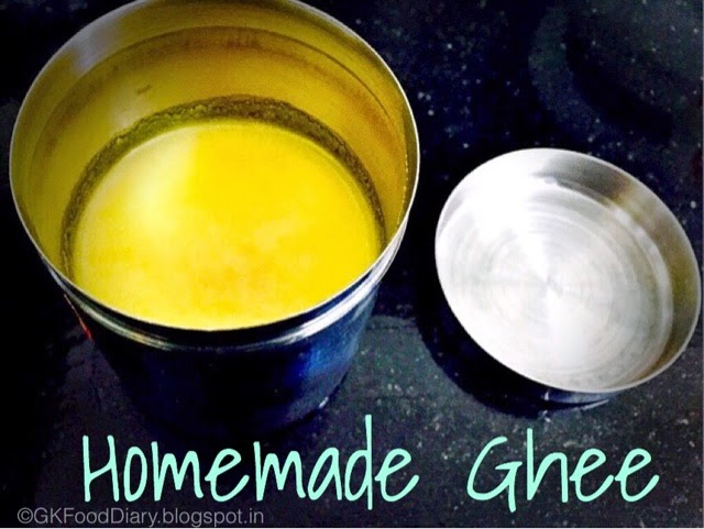 Homemade Ghee Recipe (From Butter)