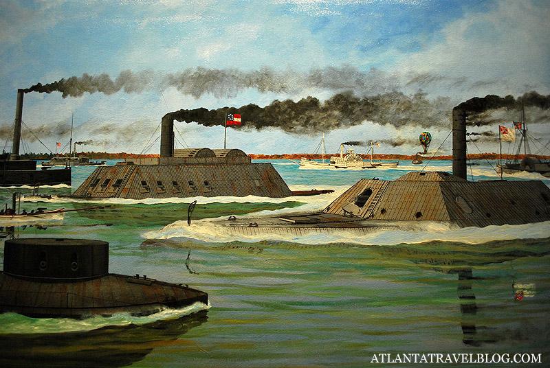 Мзей флота  Порт Коламбус - Port Columbus