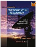 Text: Differential Equations. Description: Picture of Aaron's DE text book.