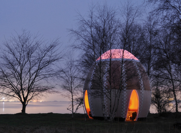 Temporary Fire Shelter Seen On www.coolpicturegallery.us