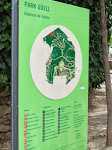 Map of Park Guell