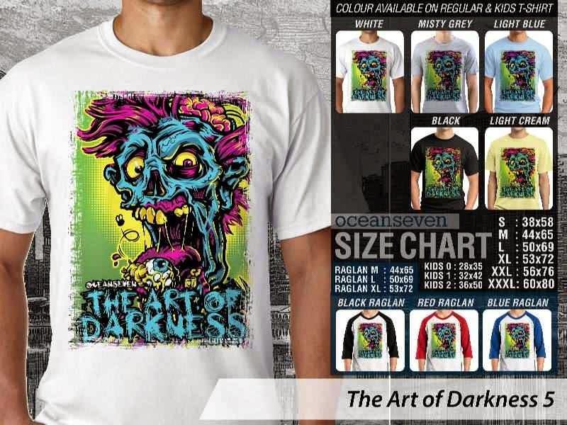 KAOS keren zombie The Art of Darkness 5 distro ocean seven